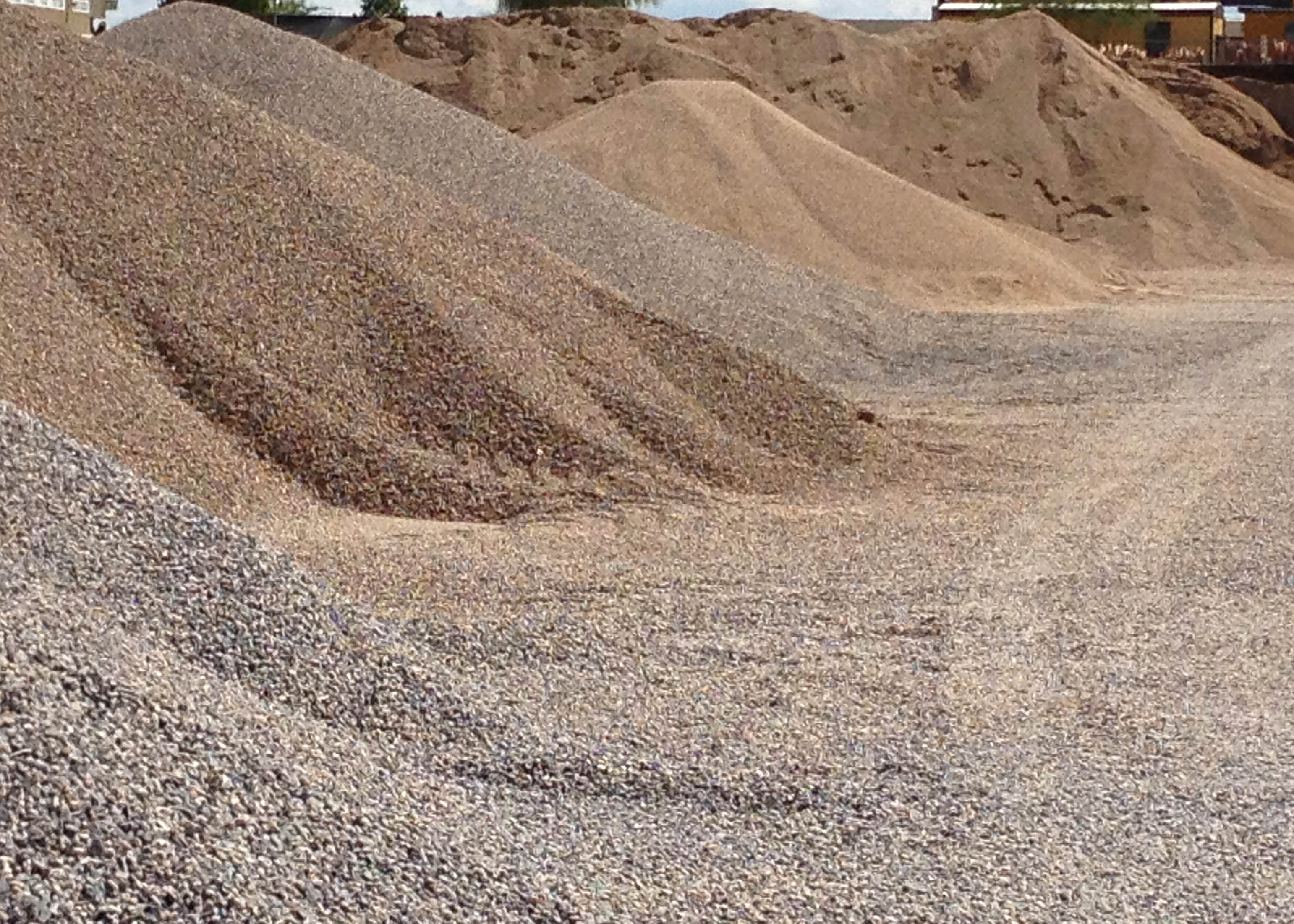 Gravel bulk delivery select materials for Landscaping rocks delivered