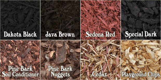 Mulch Bulk Delivery Select Materials